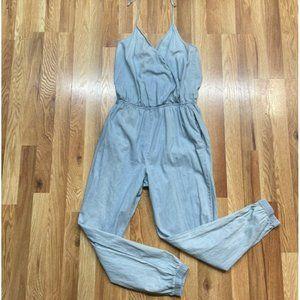 Mimi Chica Halter Style Jumpsuit Large